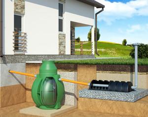 Пусконаладочные работы канализационной системы загородного дома или коттеджа